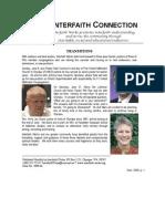 June 2008 Interfaith Connection Newsletter, Interfaith Works