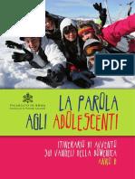 Sussidio La Parola Agli Adolescenti - Avvento 2017 Anno B