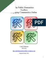 Public Humanities Toolbox Handbook October 2011