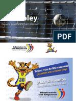 Ecuavoley Deporte Ecuatoriano por tradición