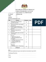 Cover Case Study n Format Pemarkahan