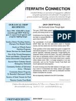 July 2010 Interfaith Connection Newsletter, Interfaith Works