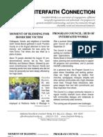 September 2010 Interfaith Connection Newsletter, Interfaith Works