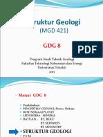 GDG 8 Struktur Geologi