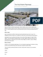 Yesbazaar.com-Hajj and Umrah the Holy Muslim Pilgrimage