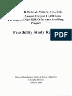 FS Report Smelter 21000 Tpa-1