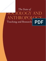 The State of Sociology and Anthropology