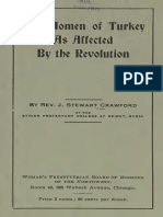 Rev. Steward - The Women of Turkey as Affected by the Revolution