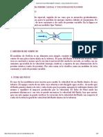 Dispositivos Para Medir Caudal y Velocidad de Fluidos