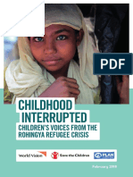 Save the Children - Childhood Interrupted (2018)