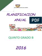 PCI 5° GRADO 2016