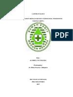 case report internsip  Vertigo BPPV  word