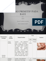 Refleks Primitif Pada Bayi Oleh Nurul Fadilla Leurima
