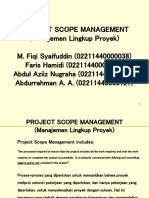 Project Scope Kelompok 3