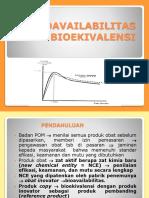 Xi. Uji Bioavailabilitas Dan Bioekivalen Revisi