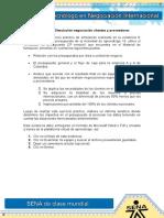 Evidencia 6 Simulación Negociación Clientes y Proveedores