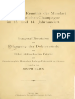 Pages From Brod-Die Mundart Der Kantone Chateau-Salins 1912