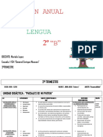 Plan Anual Lengua