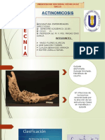 Actinomicosis . Ppp