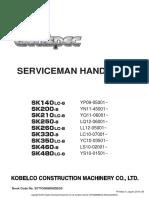 SK140~SK480LC-8 Service Repairing manual