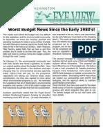 2002 Issue #6 Bird's Eye View Newsletter Washington Audubon Society