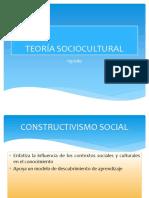 Teoría Sociocultural Vigostky