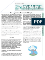 2003 Issue #9 Bird's Eye View Newsletter Washington Audubon Society