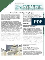 2003 Issue #7 Bird's Eye View Newsletter Washington Audubon Society