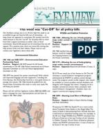 2003 Issue #5 Bird's Eye View Newsletter Washington Audubon Society