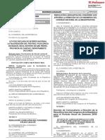 DECRETO DE CONVOCATORIA A ELECCIÓN DE LA MESA DIRECTIVA DEL CONGRESO DE LA REPÚBLICA PARA EL PERÍODO ANUAL DE SESIONES 2018-2019.pdf