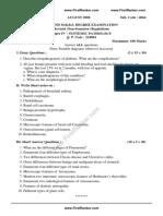 MBBS 2016 Systemic Pathology Fr 6 FirstRanker.com