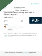 Propaganda y Revolución en México