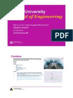 Large Complex Structures Vibration Analysis