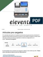 Eleventa Manual