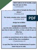 Versículos Bíblicos Corintios & Tesalonicenses