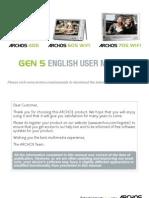 English User Manual Archos Gen5 v3
