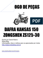 Catálogo de Peças Kansas 150