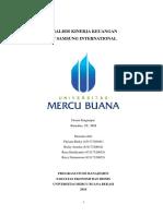 Analisis Kinerja Keuangan PT Samsung International