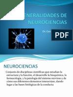 Generalidades de Neurociencias