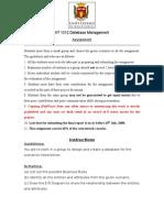 Assignment Database Management