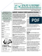 2005 Issue #2 Bird's Eye View Newsletter Washington Audubon Society