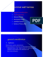 Abdominals Hernia