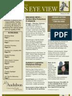 2006 Issue #4 Bird's Eye View Newsletter Washington Audubon Society