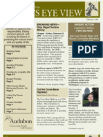 2006 Issue #3 Bird's Eye View Newsletter Washington Audubon Society