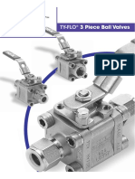 3 Piece Ball Valves Doc. 72308 Rev. F