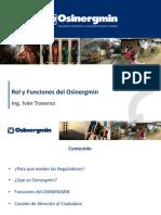 Rol y Funciones Del Osinergmin
