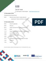 Impact+ Exercise Agenda Youth 14-15 November 2018 v1