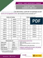 Hora Rios Ren Fe Campus