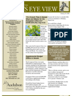 2008 Issue #3 Bird's Eye View Newsletter Washington Audubon Society