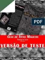 [Sistema Daemon] Guia de Itens Mgicos - Edio de Luxo (Edio 1 Pgs 91 de 274) INCOMPLETO